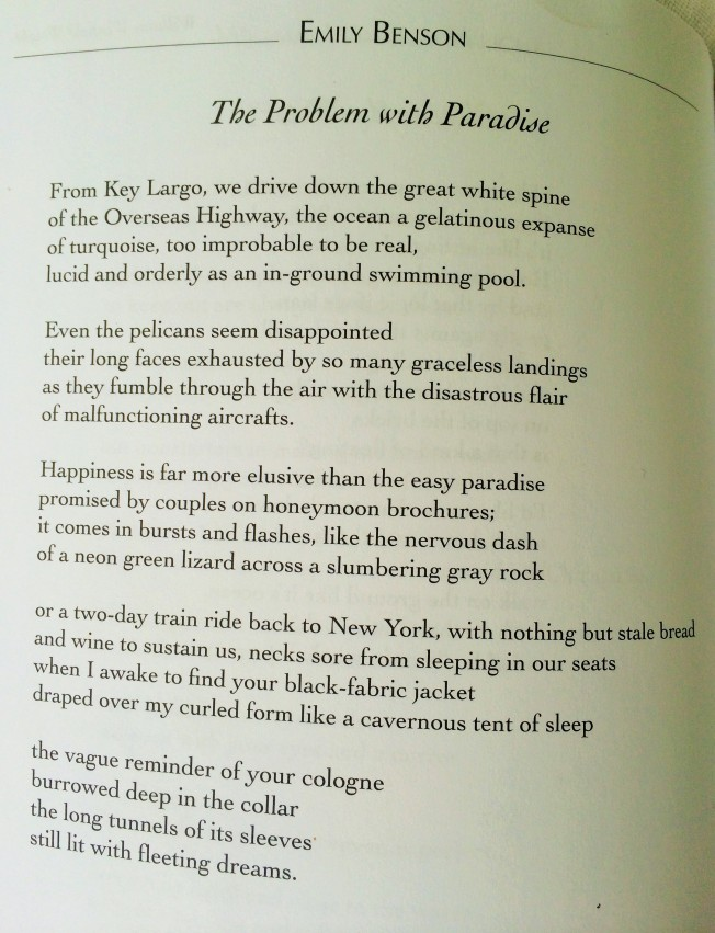 Problem with Paradise Poem